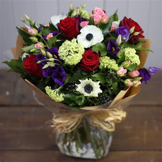 The Red White and Blue Bouquet